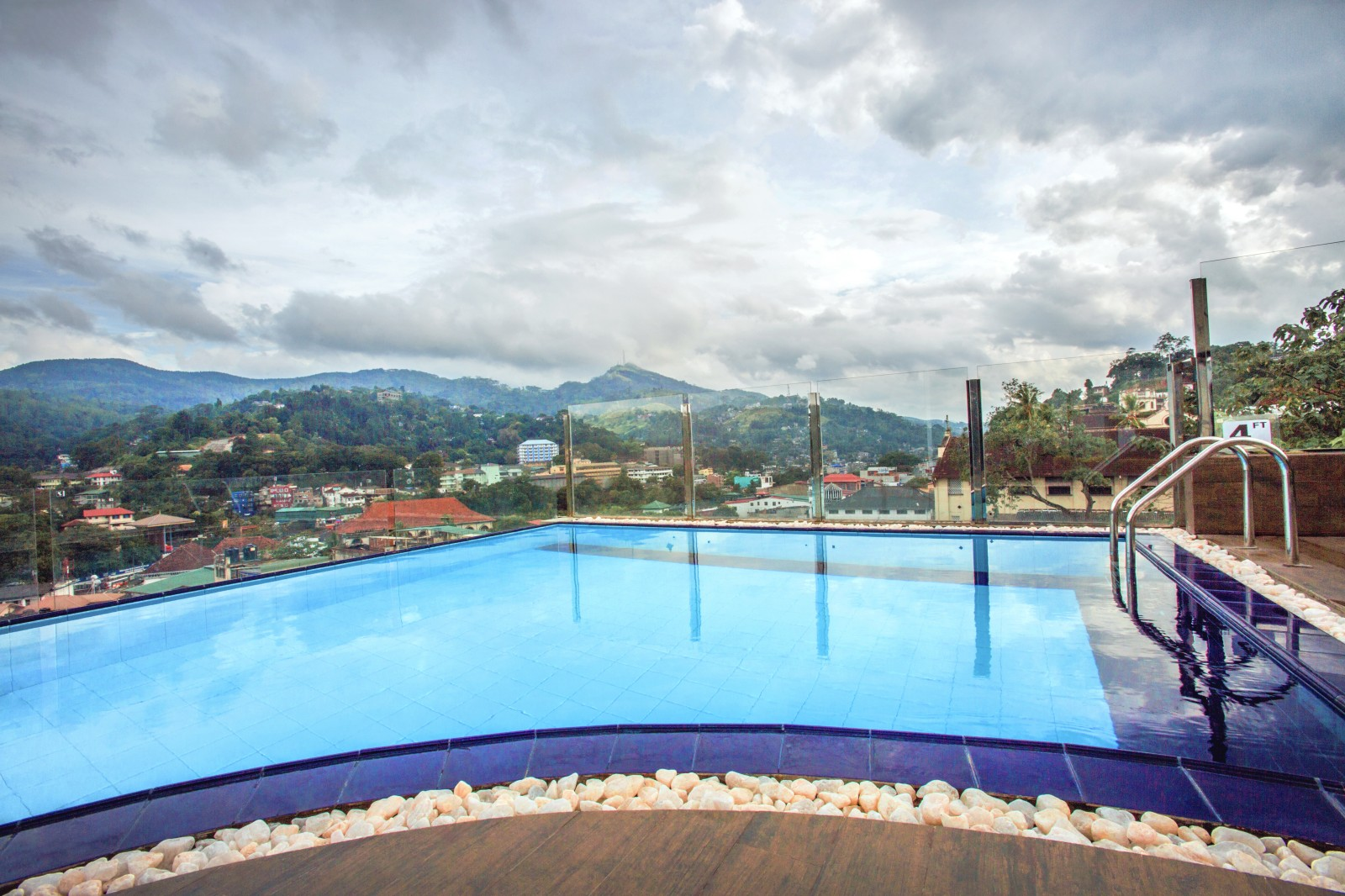 Rooftop pool, Kandy Sri Lanka